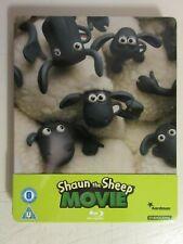 Shaun The Sheep Movie Blu-ray Steelbook UK Limited Edition 1/4 Slip