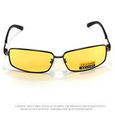 Jaune lentille Polarized UV 400 Lunettes de soleil Nuit Vision Sport Goggles