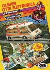 ▬►Pubblicità Advertising Werbung 1993 GIG MicroMachines - Un grande camper