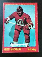 Keith McCreary-1973/74 Opee-chee Hockey-nr.mint-no.13-Atlanta Flames