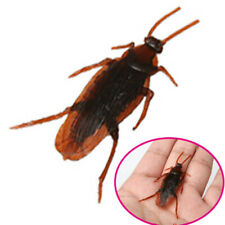 1Pc Simulation Fake Cockroach Shock Toy Prank Tricky Toy Xiaoqiang Magic Prop SU