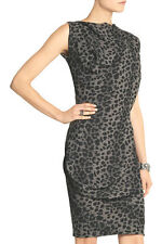 Vivienne Westwood Anglomania Fond leopard-print crepe dress 40 UK 8