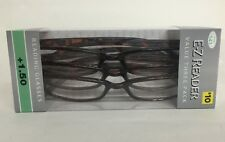 LOT OF 3 FOSTER GRANT HADLEY TORTOISE READING GLASSES +1.50 NEW