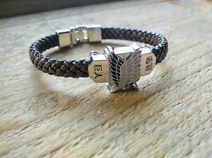 Anime Manga Attack on Titan Bracelet / Cosplay Jewellery Gift Wristband UK Stock