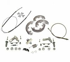 1967-82 Corvette Emergency Parking Brake Deluxe Kit Stainless Steel
