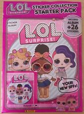 L.O.L. Surprise! ~ Panini Sticker Collection Starter Pack Inc 26 Stickers