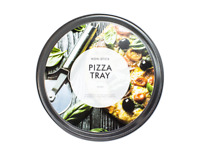 Pizza Tray 12 Inch Carbon Steel Baking Round Oven Vented Tray Nonstick Non Stick