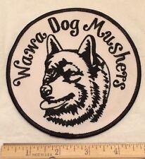 Wawa Dog Mushers Alaskan Husky Racing Dogs Sled Dog Race Patch