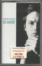 CRISTIANO DE ANDRE' - SANREMO ' 93 - MC MUSICASSETTA 1993 SIGILLATA SEALED