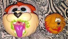 Spitballs Cat & Dog Madballs KO Weird Ball Gross Odd Animal Vintage 80's Toys