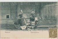 Dutch East Indies 1900 BATAVIA BAMBOEWERKERS FRANKED 1C NEDINDIE