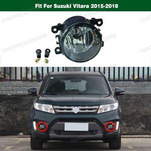 1Pcs Clear Front Bumper Fog Light Driving Lamp for Suzuki Vitara 2015-2018