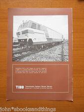 1980 LOCOMOTIVA E 633 SERVIZIO VIAGGIATORI FS TECNOMASIO ITALIANO FERROVIE EPOCA