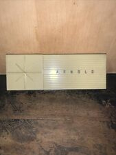 Vintage Remmie Arnold -Pencil Box Holder- Starburst Pattern!
