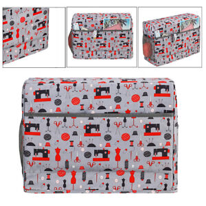 Home Sewing Machine  Carrying Storage Protective Case Bag Accessories