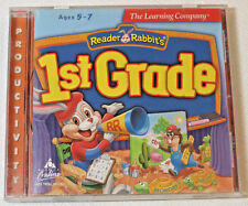 The Learning Company Reader Rabbits 1st Grade Ages 5-7 CD-ROM 1997 Productivity