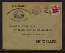 Belgium N3 on nice ad cover 1916 Kl0907