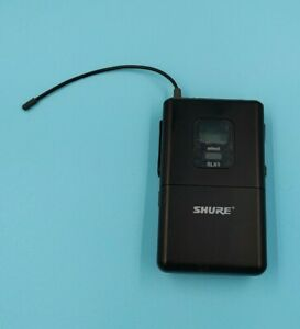 Shure SLX1 Wireless Bodypack Transmitter - G4 Band