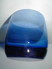 Cobalt Blue Glass 12 oz Double Old Fashioned/On-the Rocks Tumbler/s