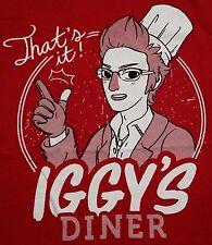 """Iggy's Diner"" Final Fantasy FFXV Women's XL Shirt Theyetee"