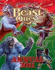 """NEW"" Annual 2011 (Beast Quest), Blade, Adam, Book"