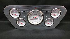1953 1954 1955 FORD TRUCK 5 GAUGE GAUGE CLUSTER WHITE