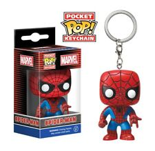 OFFICIAL MARVEL COMICS - THE AMAZING SPIDER-MAN POCKET POP! VINYL KEYRING (NEW)
