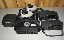 Motorola PM1500 VHF Mobile Radio DUAL HEAD 136-176 MHz, 255 Ch, 110W