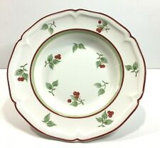 "Villeroy & Boch Germany Joy Noel Pattern 9"" Rimmed Soup Bowl Mint Condition"
