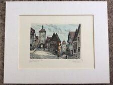 Dealer or Reseller Listed Vintage Architecture Art Prints