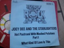 "7""  JOE DEE & THE STARLIGHTERS HOT PASTRAMI WITH MASHED POTATOES GERMANY EX+++"