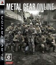 UsedGame PS3 Metal Gear Online FreeShipping [Japan Import]
