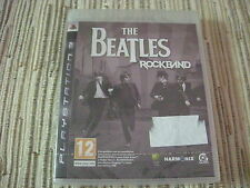 PLAYSTATION 3 PS3 THE BEATLES ROCKBAND PAL ESPAÑA NUEVO PRECINTADO
