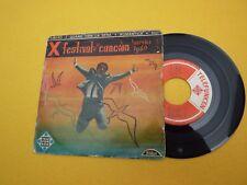 """X festival de la canción Sanremo 1960 Libero Domenico Modugno (VG/VG)   7"""" ç"""