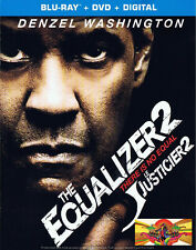 Thriller - The Equalizer 2 (Blu-ray/DVD, 2018) (Bilingual) Action SLIPCOVER NEW