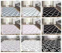 Modern Trellis Area Rugs Contemporary Living Room Geometric Rug Floor Carpets