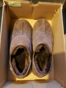 UGG Australia Leisure Suede UGGpure™ Lined Slipper Size 9, Brown