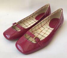 Coach Ellyce Soft Patent Flat Women's Shoes Size 10 M Worn Q360 210076