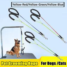 Pet Dog Cat Grooming Loop Table Arm Body Holder Rope Noose Loop Stainless Steel