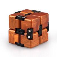 Magic Cube Speed Adults Travel Twist Toys Brain Trainer Fidget Golden