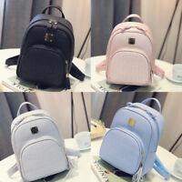 Women Girl Backpack Travel PU Leather Handbag Rucksack Shoulder School Bag Lot
