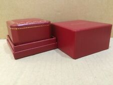 Red Cartier ring box mint in condition ( 4005 ) authentic item .