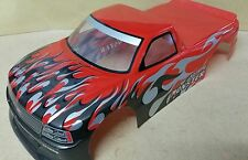 1/10 RC car 190mm on road drift Truck Body Shell Red