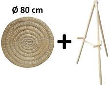 Tiro Con L'Arco Bersaglio di paglia Ø 80 cm + stand in legno