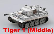 Easy Model 1/72 Tiger 1 (Middle)-sPzAbt.506, Russia 1943 Plastic Tank #36214