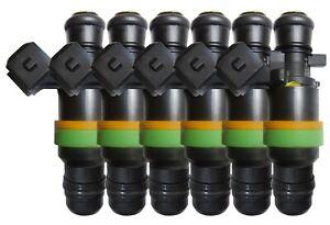 ASNU 1050cc RB25 Neo R34 GTT Injectors plug and play x6