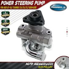 Power Steering Pump w/o Pulley for Audi Q7 VW Touareg 3.0L 3.6L 6.0L 2004-2015