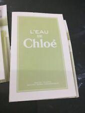 Chloe L'EAU De EDT 1.2ml Sample
