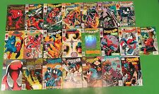 Spider-Man #1 2 5-7 13-17 25-28 45 50-56 Run Lot of 22 Comics Todd McFarlane