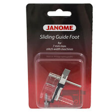 Janome Sliding Guide Foot for Top Loading Machines (7mm) - Quilting, Patchwork